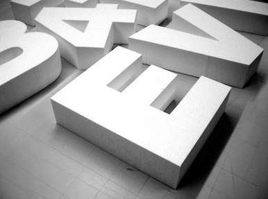 3 d sign letters