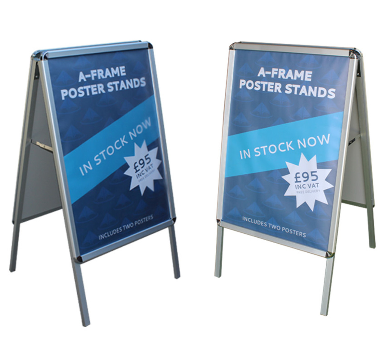 a1 portable pavement advertising