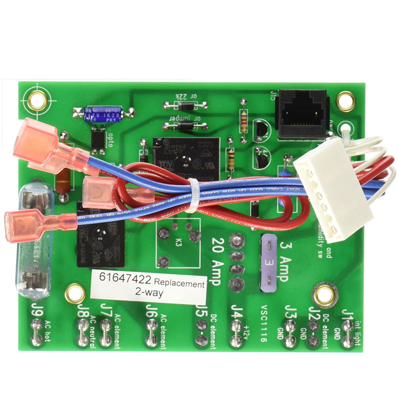 small resolution of ac wiring board