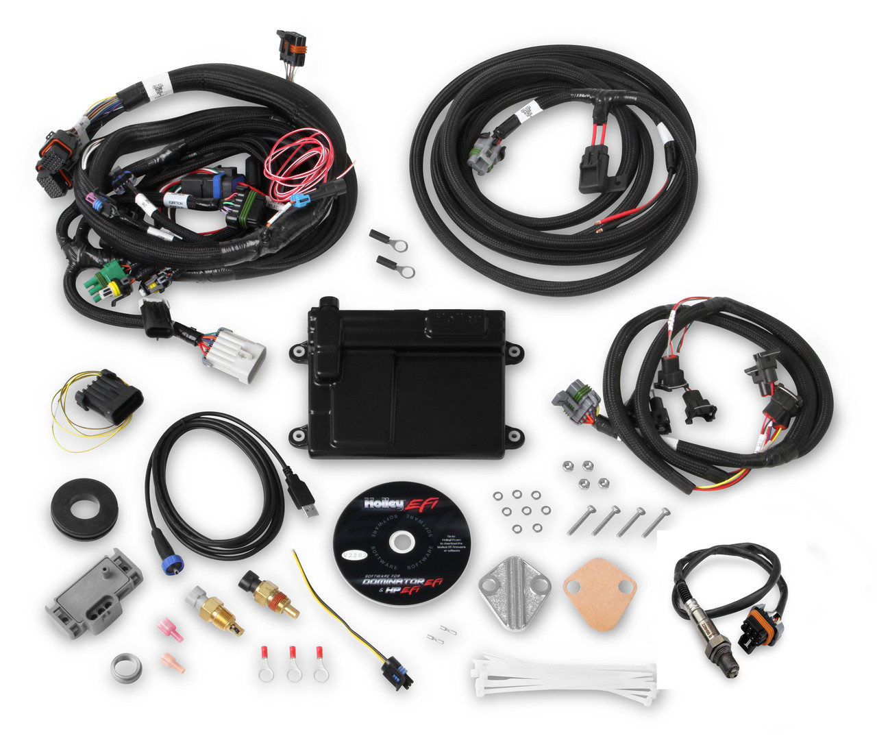 hight resolution of holley hp efi engine management kit fits 86 93 302 351w anderson for a ford 302 wiring harness kits