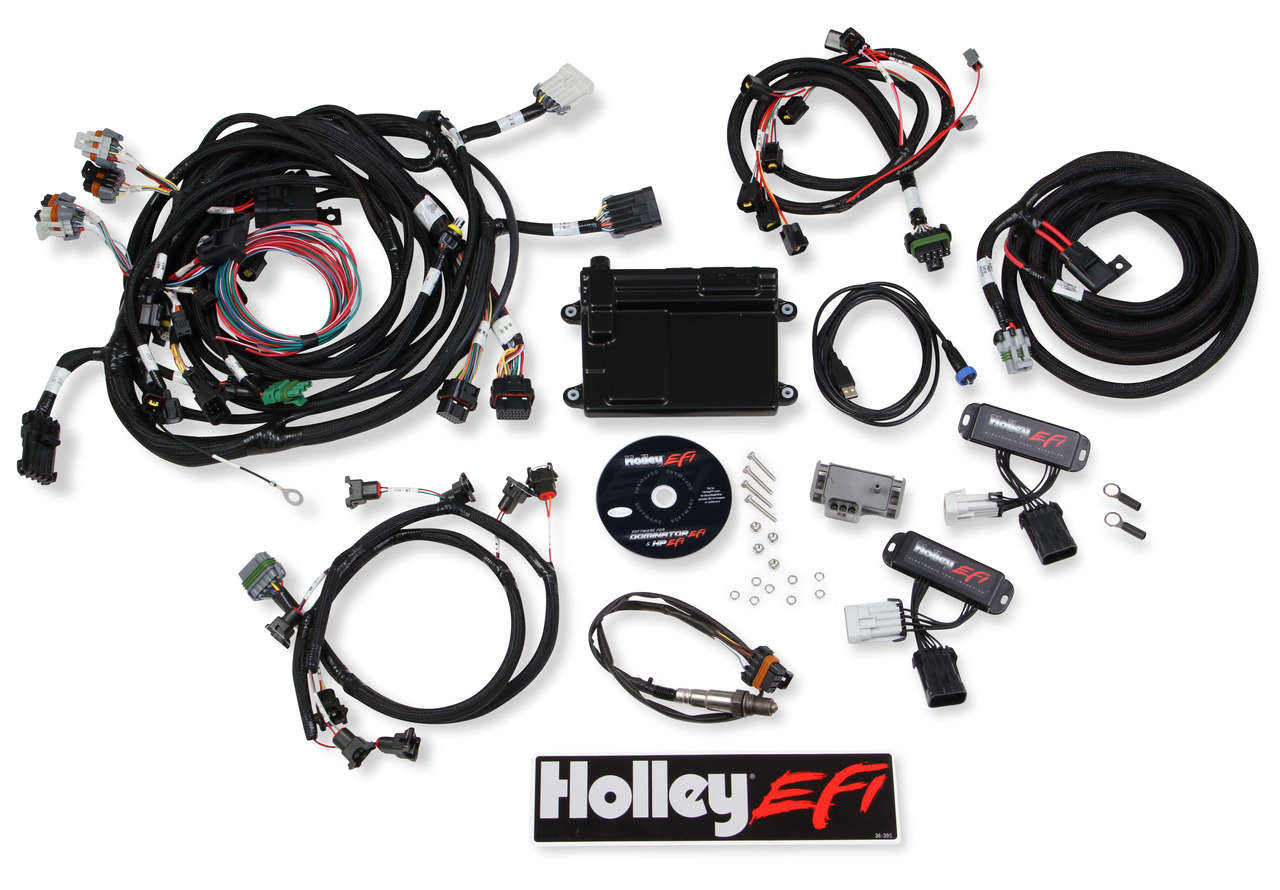 hight resolution of holley efi 550 616 complete plug and play 4 6 5 4 2v engine management