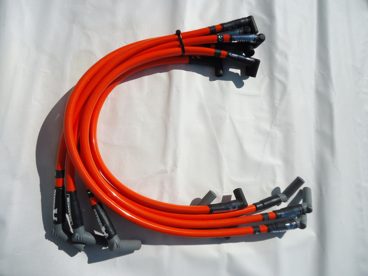 hight resolution of anderson super 40 spark plug wires competition orange fits 86 93 5 0l mustang anderson ford motorsport