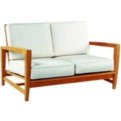 Kingsley Bate Amalfi Club Chair Comfy Accent Chairs Deep Seating Settee Am55 Shown With Optional Cushions
