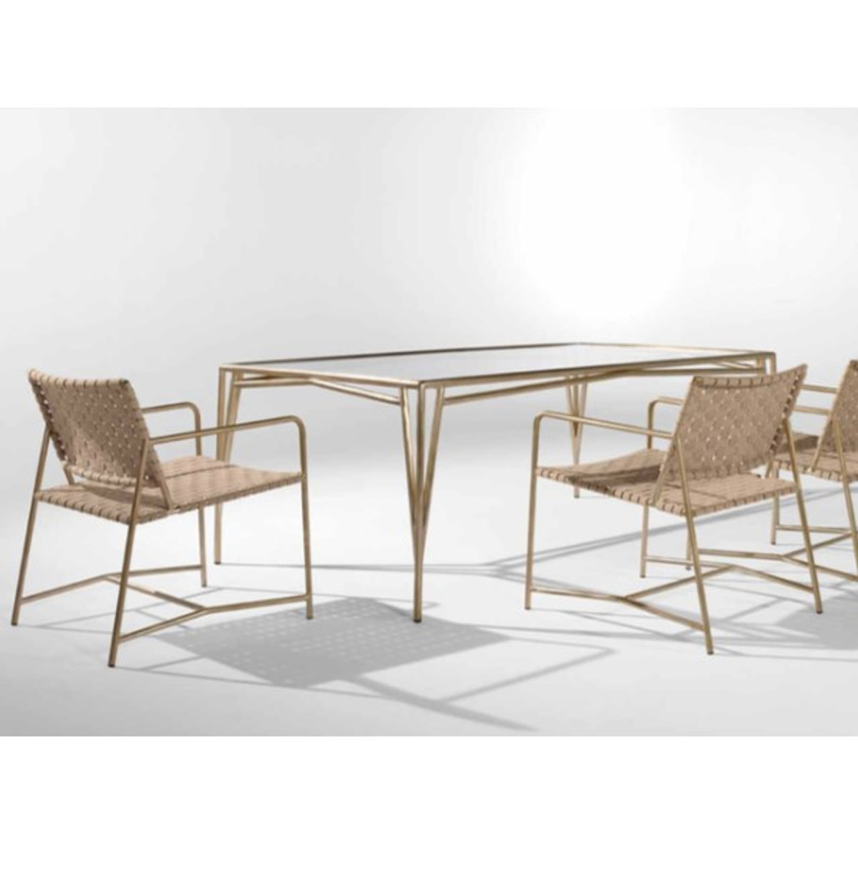 stretch dining collection brown