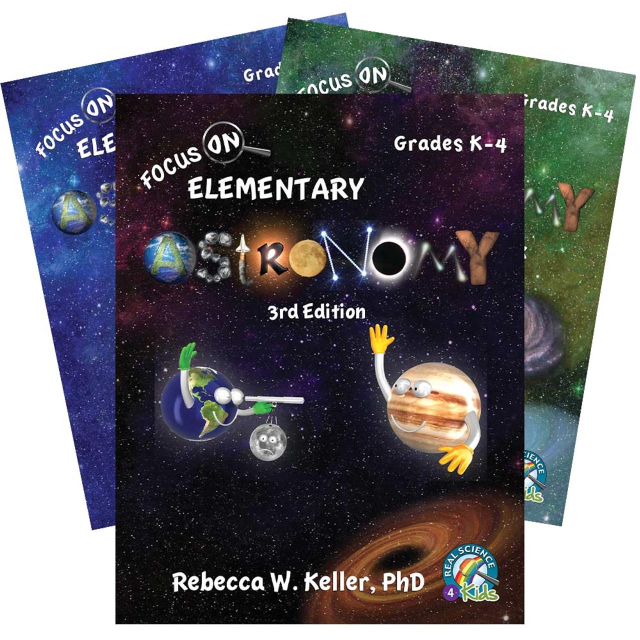 RS4K   Focus On Elementary Astronomy Set [ 1280 x 1280 Pixel ]