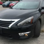 2013 2015 Nissan Altima Sedan Projector Headlights W Amber Reflectors Matte Black Housing Clear Lens Spec D Tuning