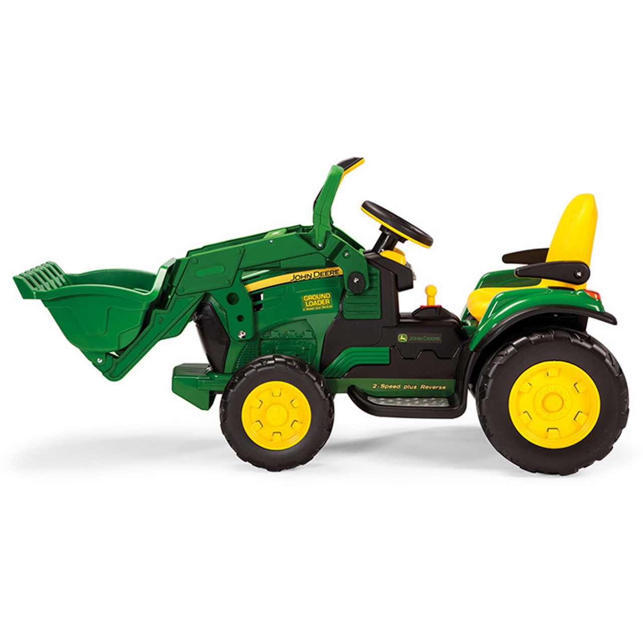 john deere toy vehicles is a quality brand for the modern child. 12v John Deere Ground Loader Kids Ride On Tractor Kids Tractors Uk