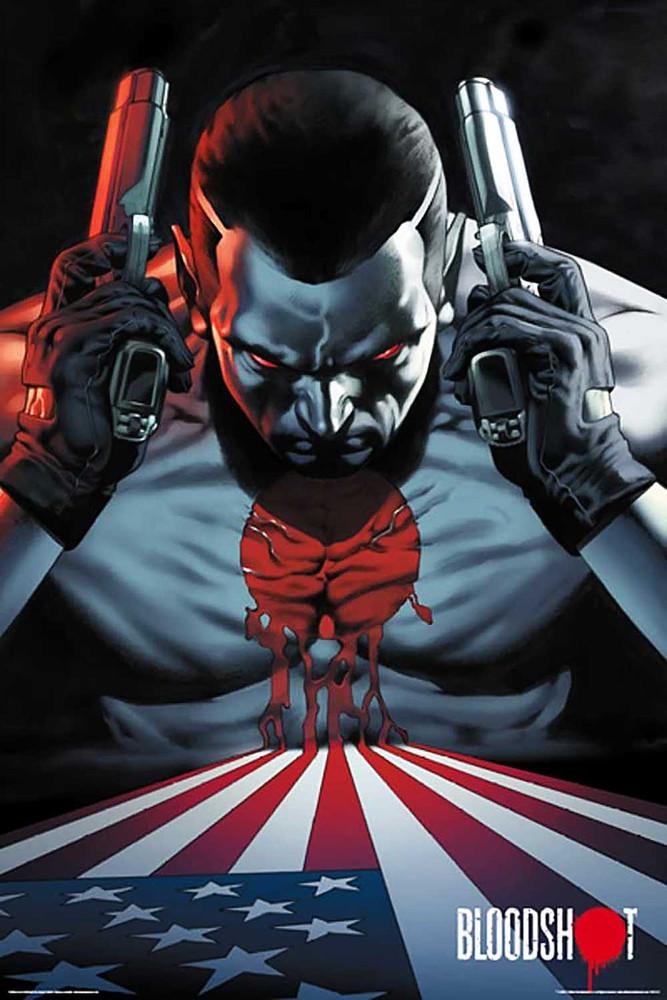 bloodshot poster large wall art 24x36