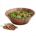 Acacia Wood Salad Bowls Sets Woodard Charles
