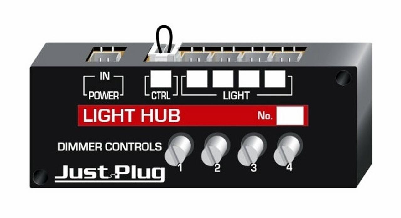 woodland scenics jp5701 just plug lighting system light hub