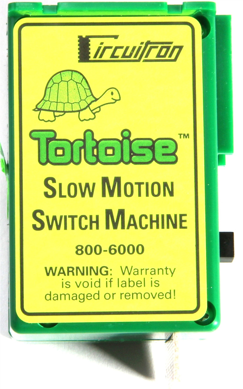 medium resolution of circuitron 800 6000 the tortoise tm switch machine modeltrainstuff com