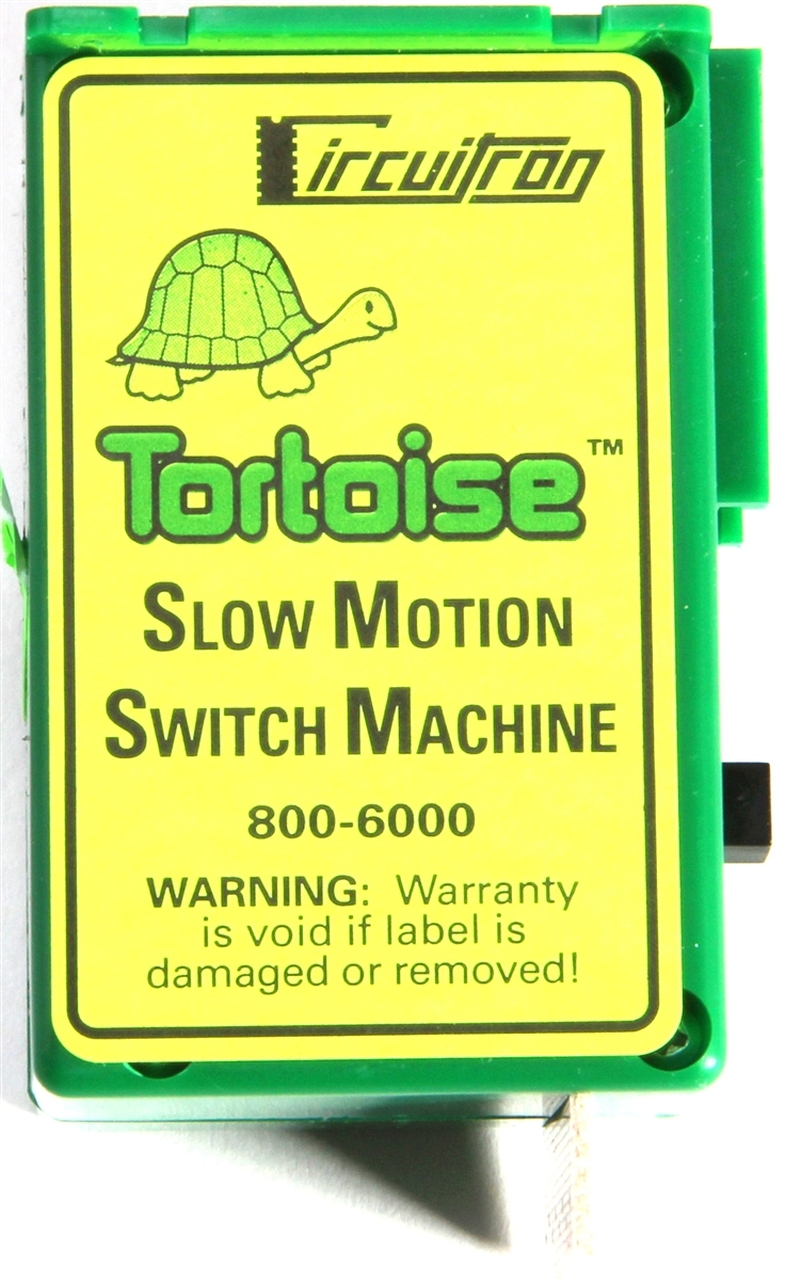 hight resolution of circuitron 800 6000 the tortoise tm switch machine modeltrainstuff com