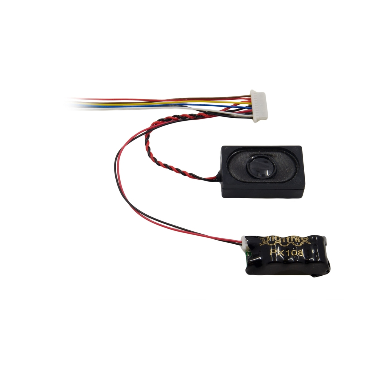 medium resolution of digitrax px108 10 power xtender for use with digitrax decoders equipped with 10 pin sound harness modeltrainstuff com