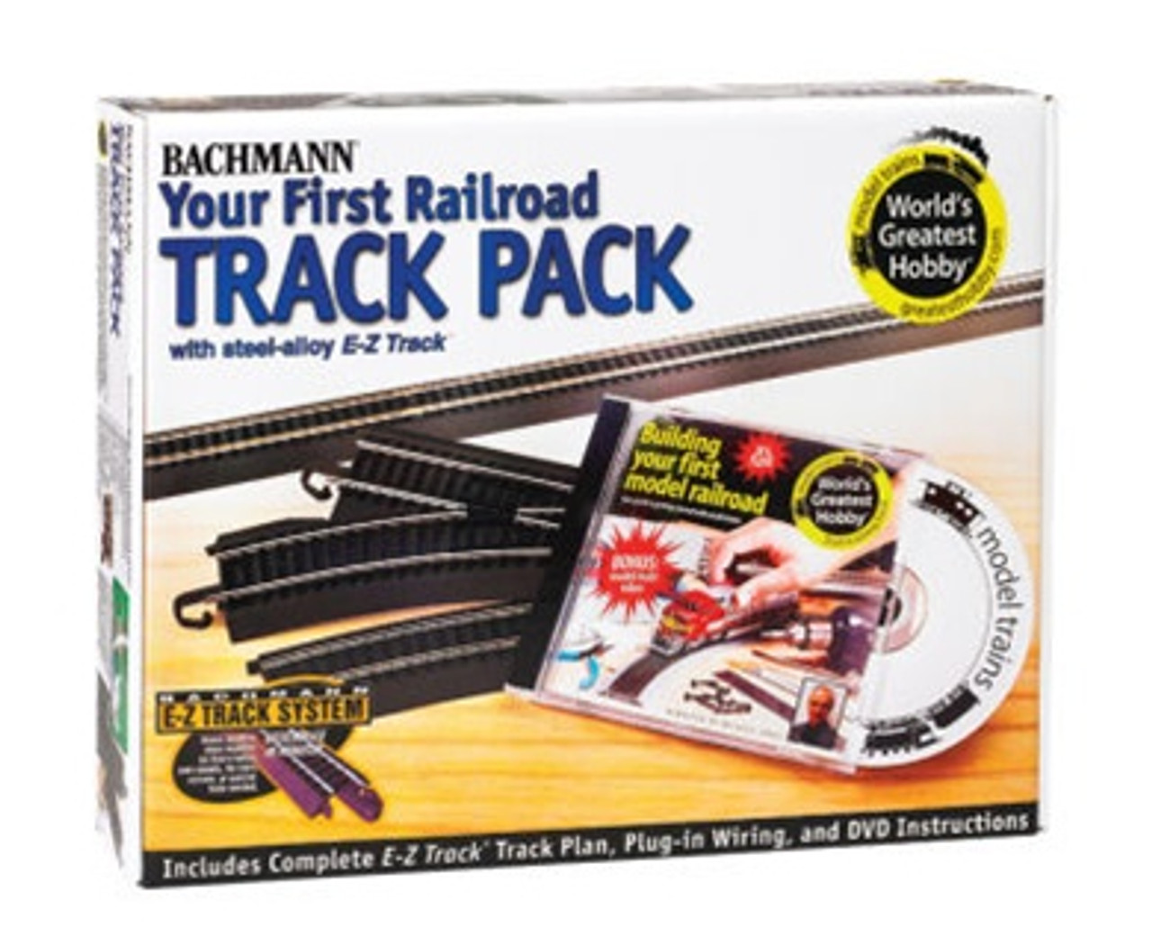 hight resolution of bachmann ho 44497 your first railroad track pack steel modeltrainstuff com