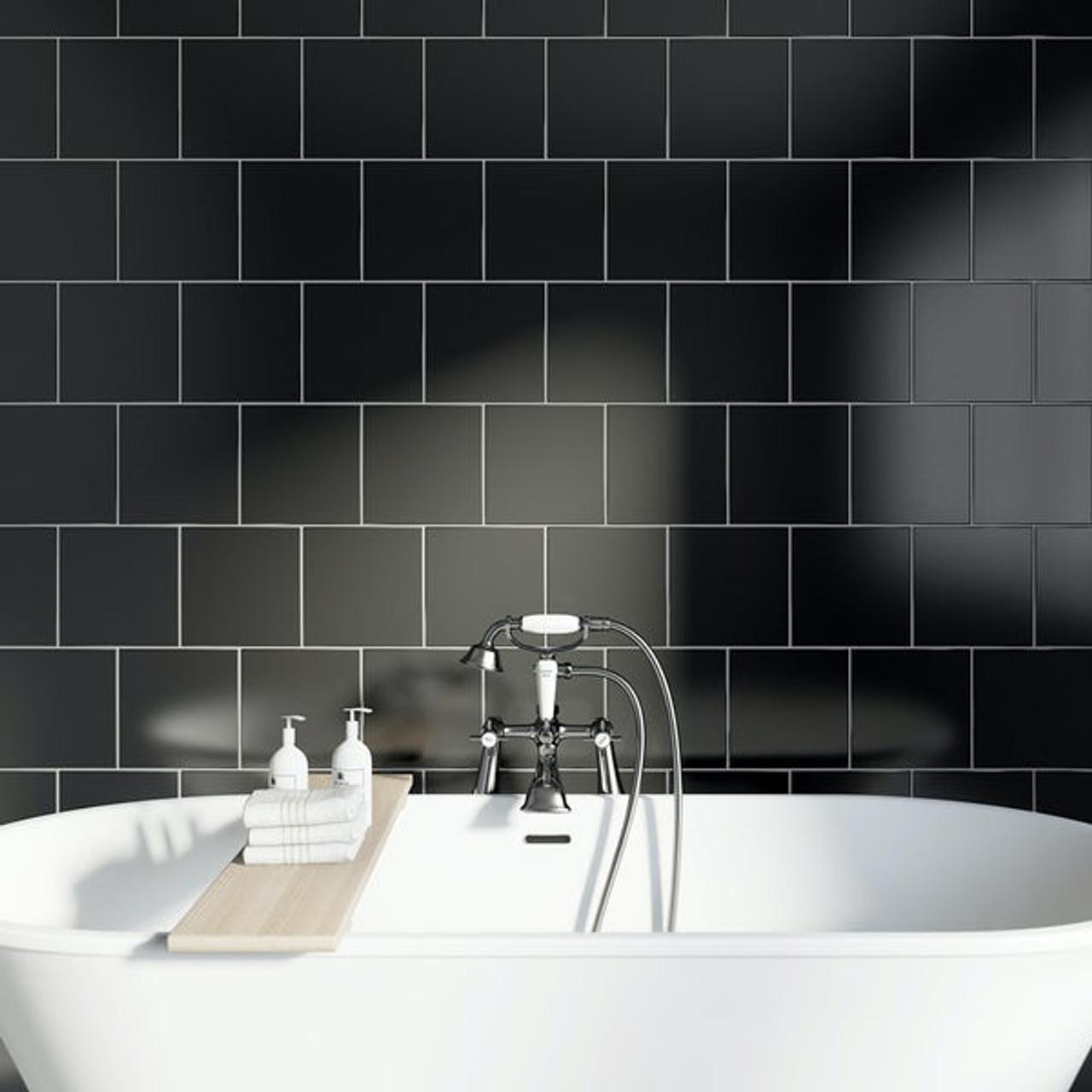 ral1500 black matt 15 tile space