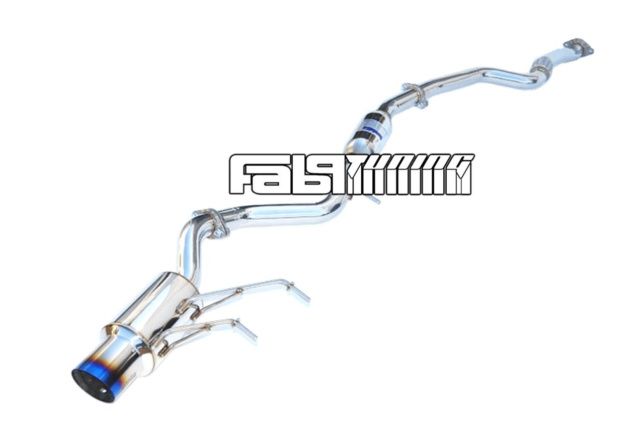 invidia n1 cat back 2 36 titanium tip exhaust system nd 16