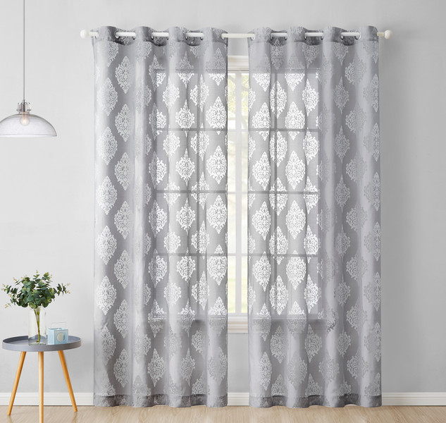 when to hang sheer curtains home