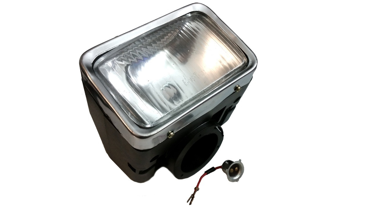 original kinetic moped complete headlight assembly no turn signals tfr 15110987 [ 1280 x 720 Pixel ]