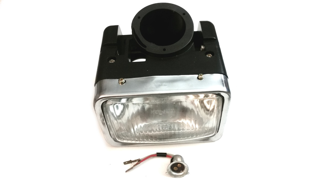 hight resolution of original kinetic moped complete headlight assembly no turn signals tfr 15110987