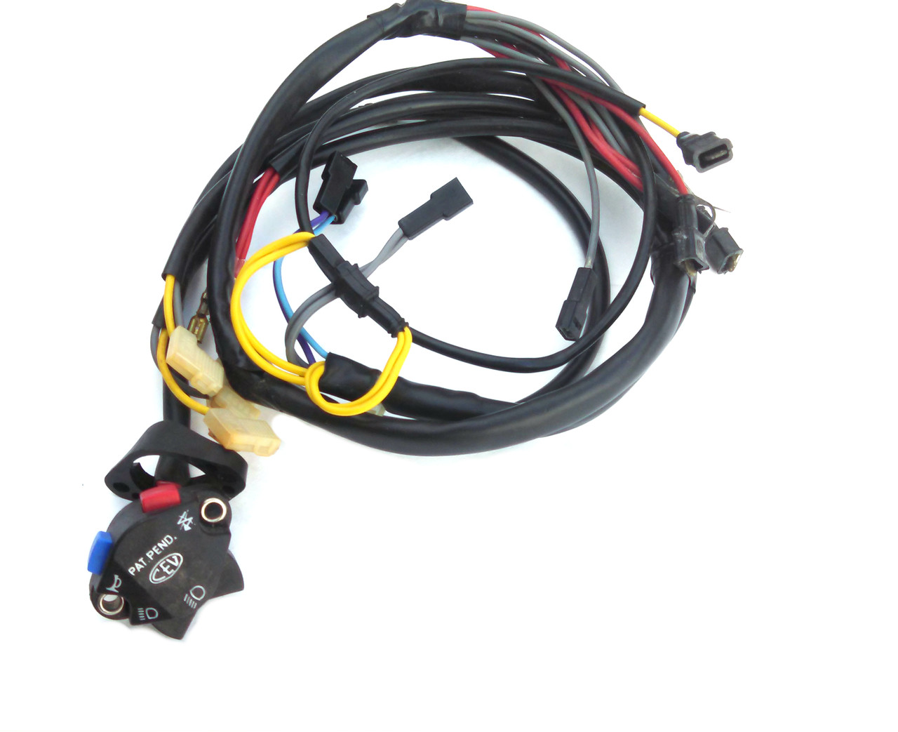 medium resolution of nos foxi ktm moped cev wiring harness and switch