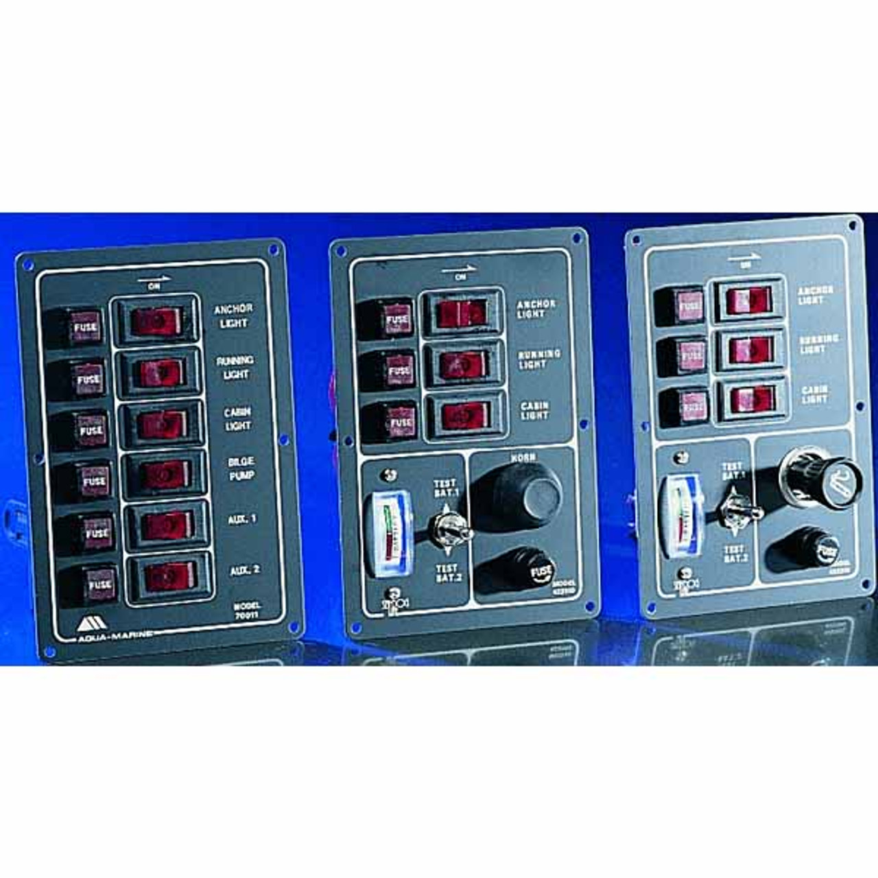 Energy On Board Gt Electrical Panels Gt Ac Gt Panel 4 Circuit Breakers