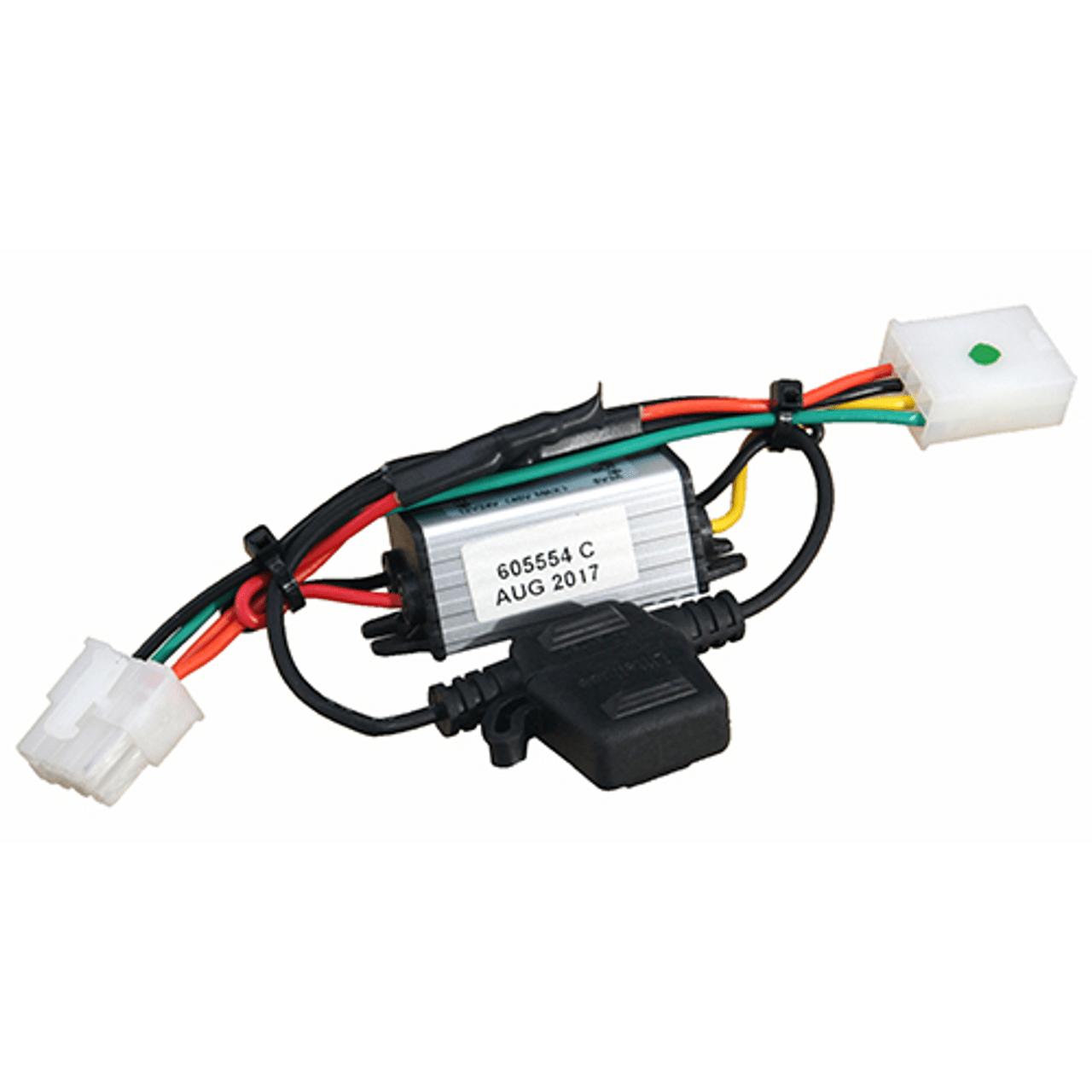 medium resolution of hustler wire harness adapter 605554