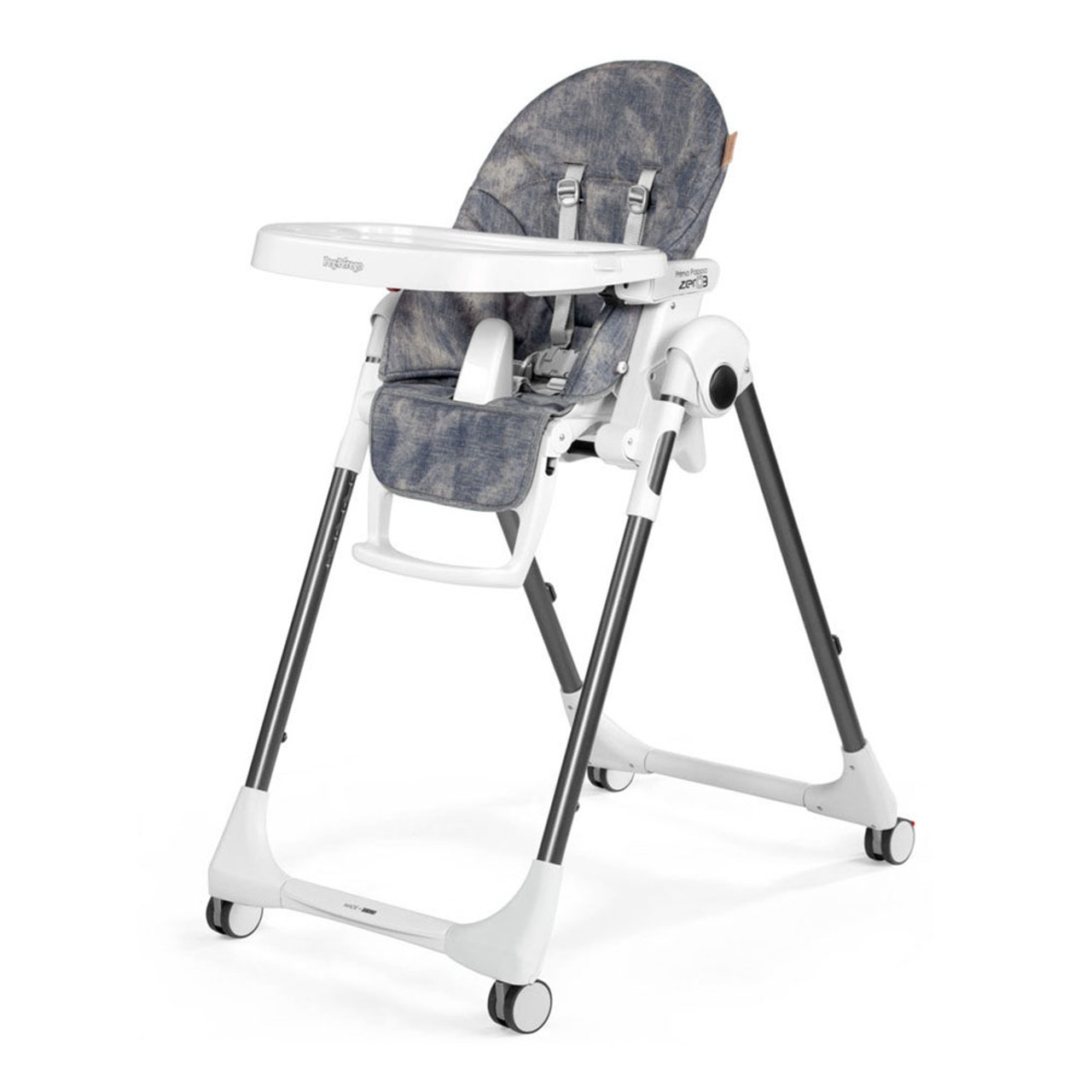Perego High Chair Peg Perego Prima Pappa Zero 3 High Chair Denim