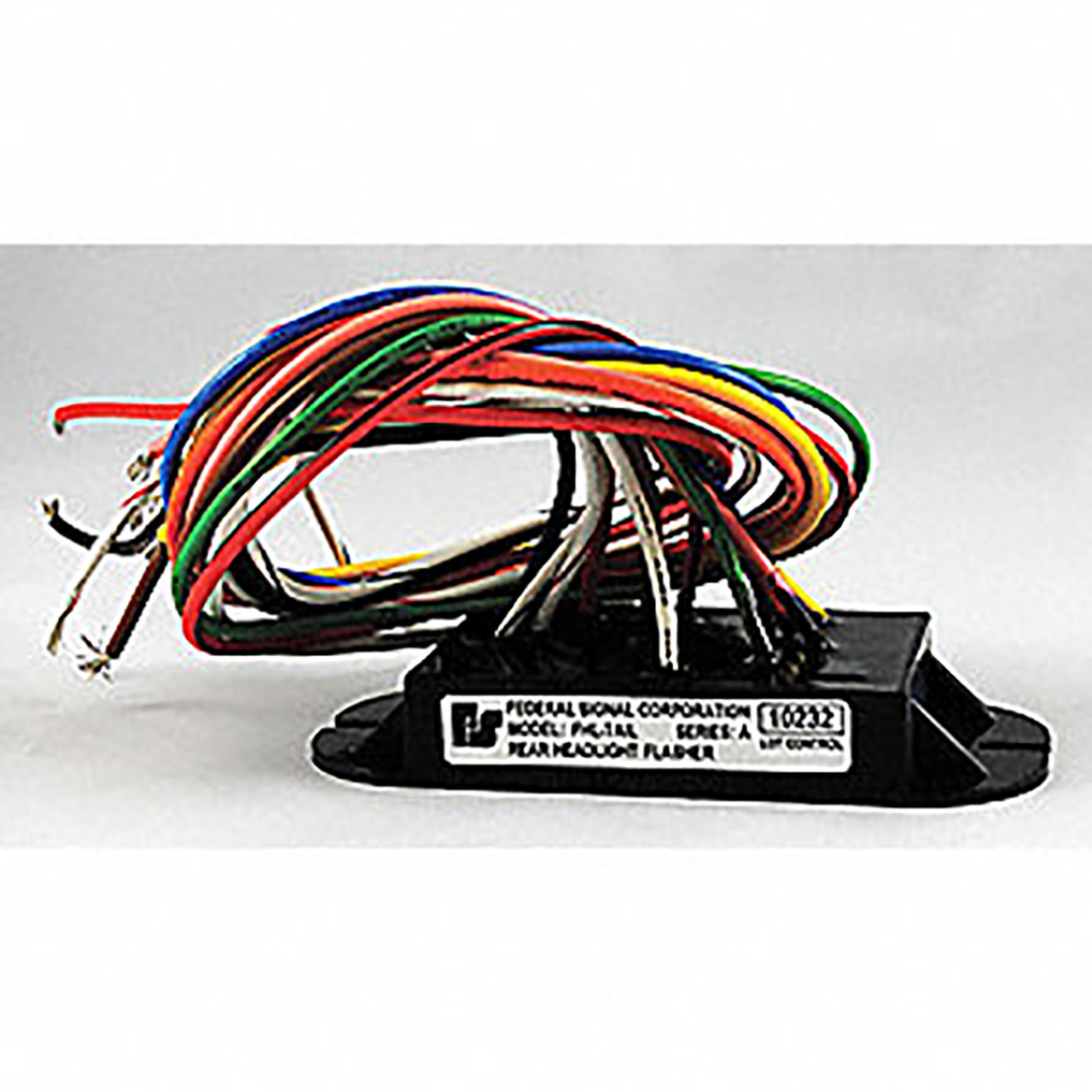 hight resolution of federal signal ford explorer taillight flasher with 18 wire leads fleet safety