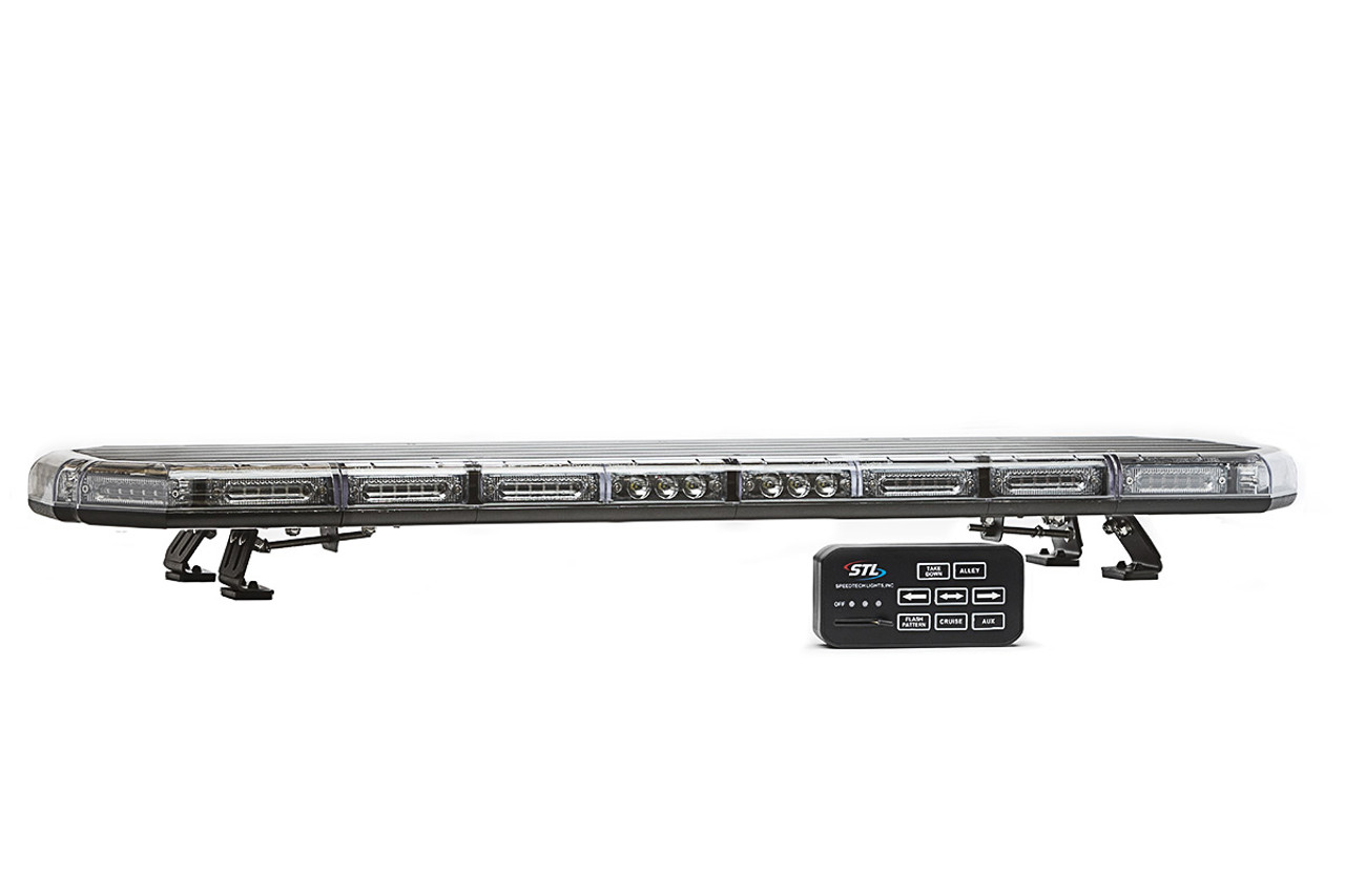 emergency and police vehicle led light bar by speedtech lights k force series  [ 1200 x 800 Pixel ]