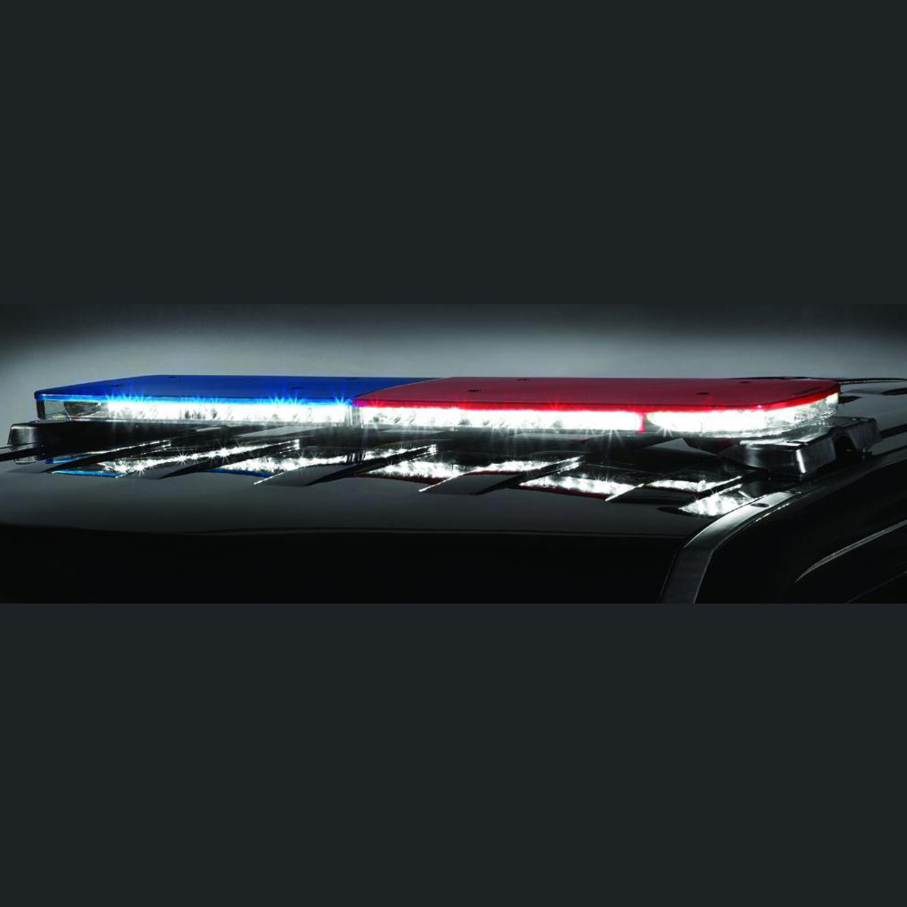 hight resolution of federal signal allegiant light bar 45 or 53 inch model dual color light bar