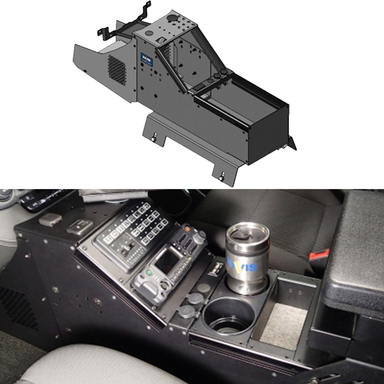havis c vs 0812 tah 1 20 inch vehicle specific console for [ 1000 x 1000 Pixel ]