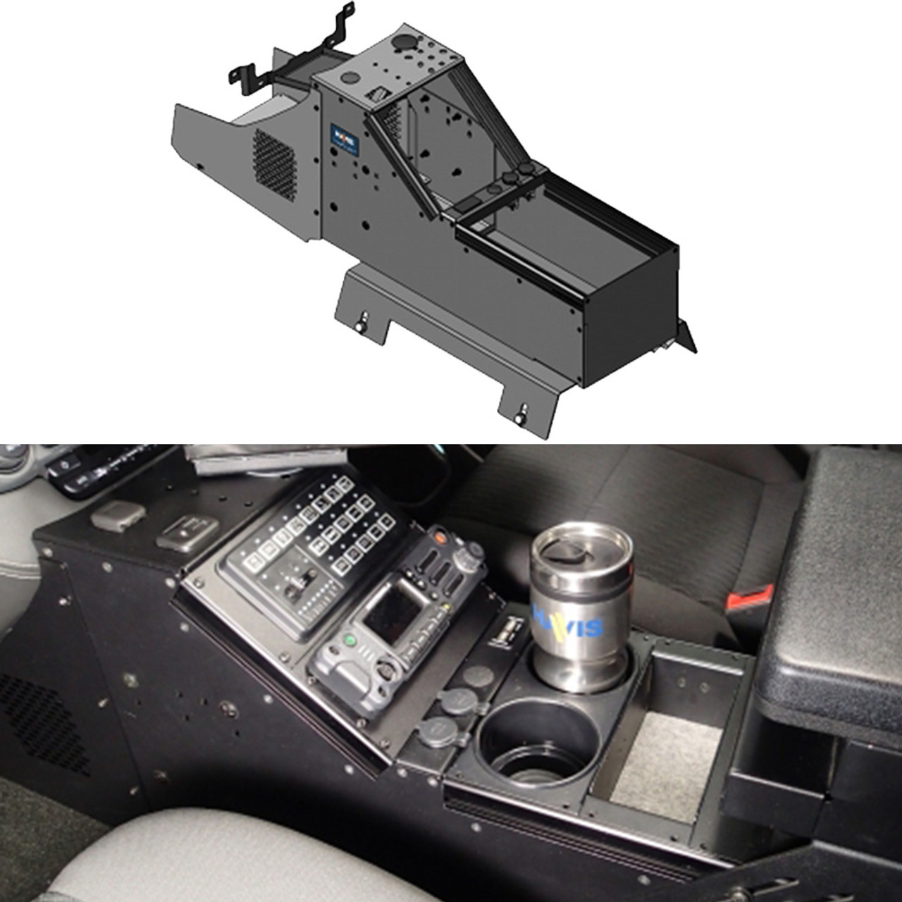 hight resolution of havis c vs 0812 tah 1 20 inch vehicle specific console for