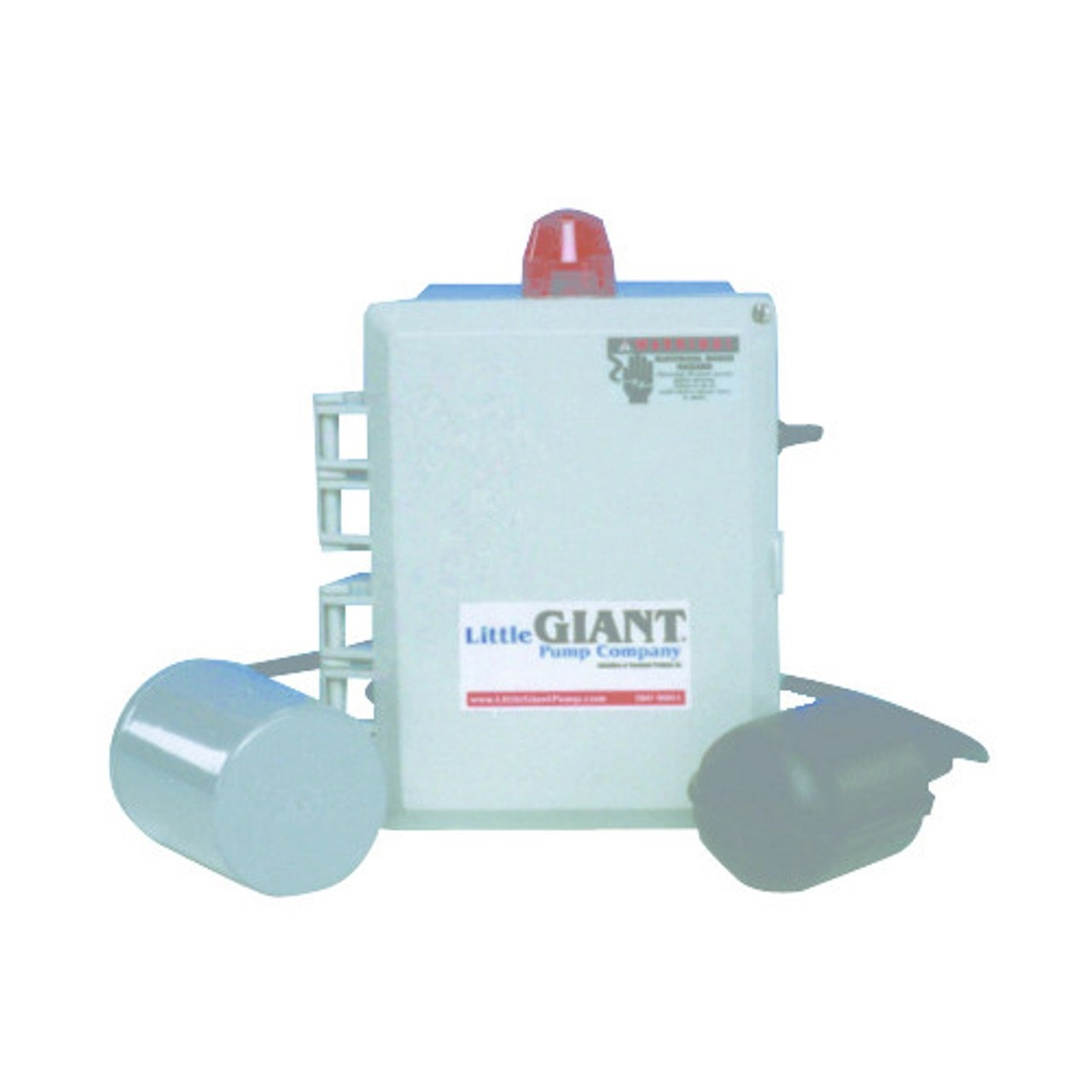 little giant 513267 single phase simplex indoor outdoor alarm system pump control [ 1280 x 1280 Pixel ]