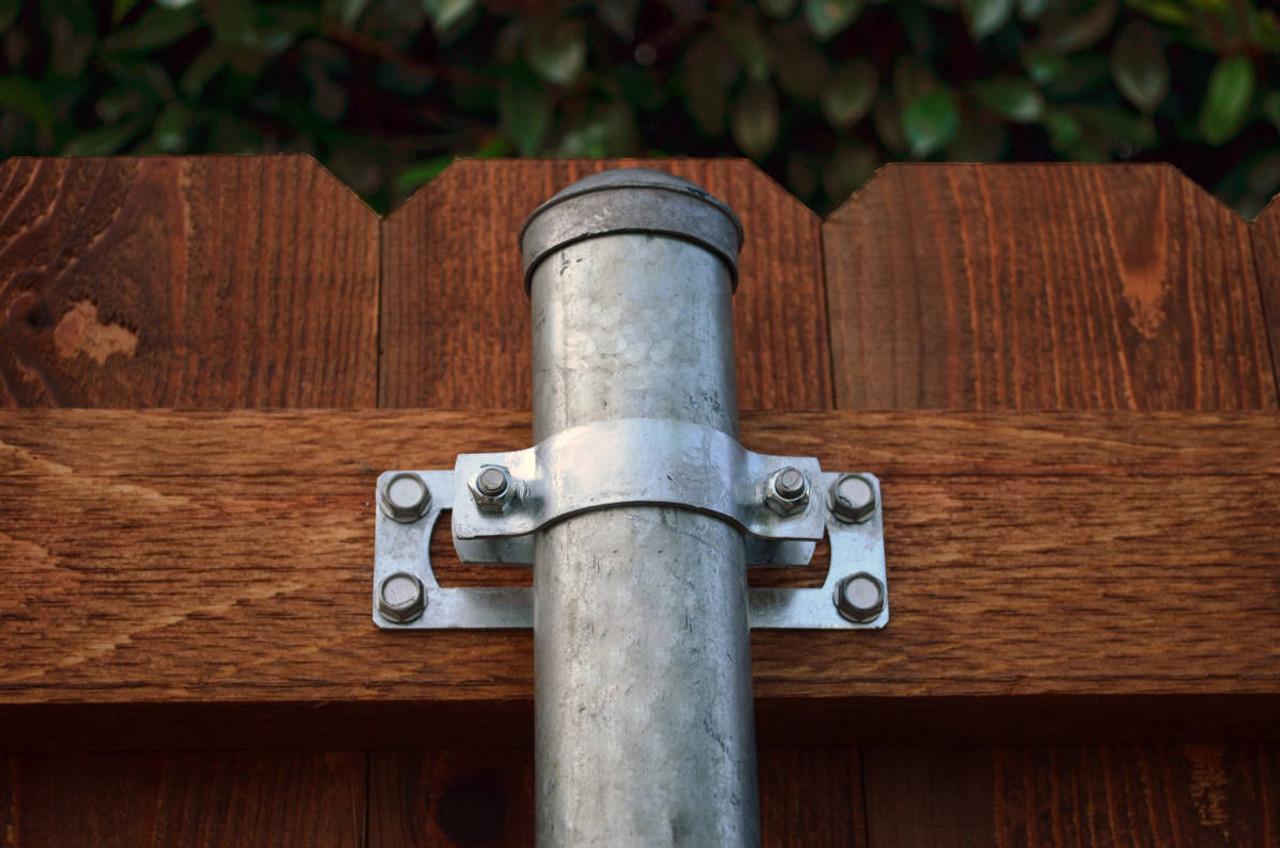 Wap Oz 2 3 8 Steel To Wood Fence Brackets Fasten Ready