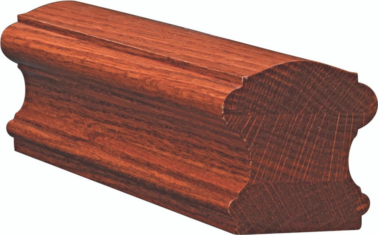 6710 Yellow Pine Traditional Handrail Westfire Stair Parts | Pine Handrail For Stairs | Stair Parts | Anti Slip | Handrail Brackets | Stair Treads | Wood Stair