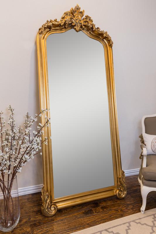 blenheim leaner mirror antique