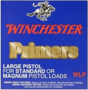 Winchester WSP Standard and Magnum Small Pistol Primers