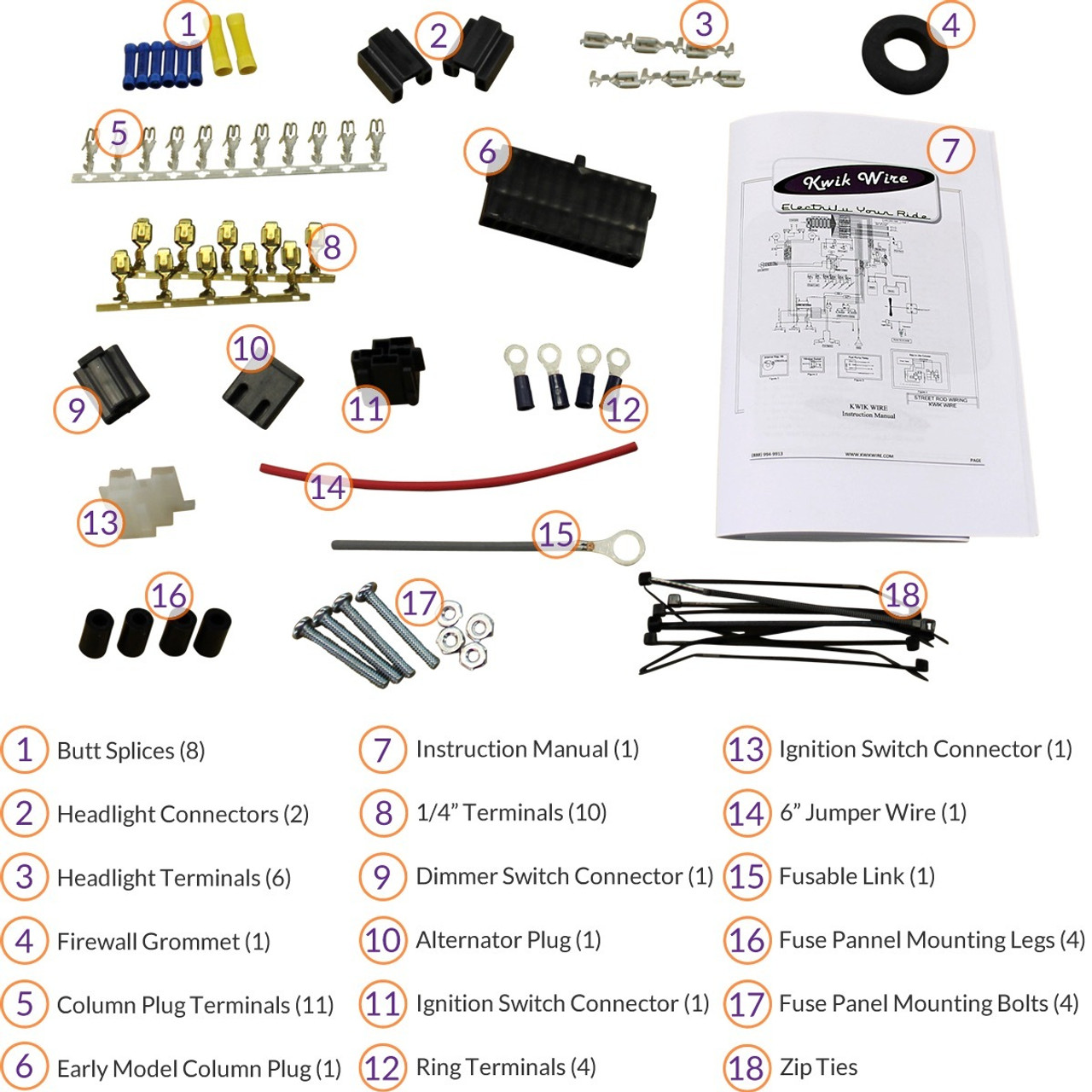 small resolution of 4 3 wiring harnes kit