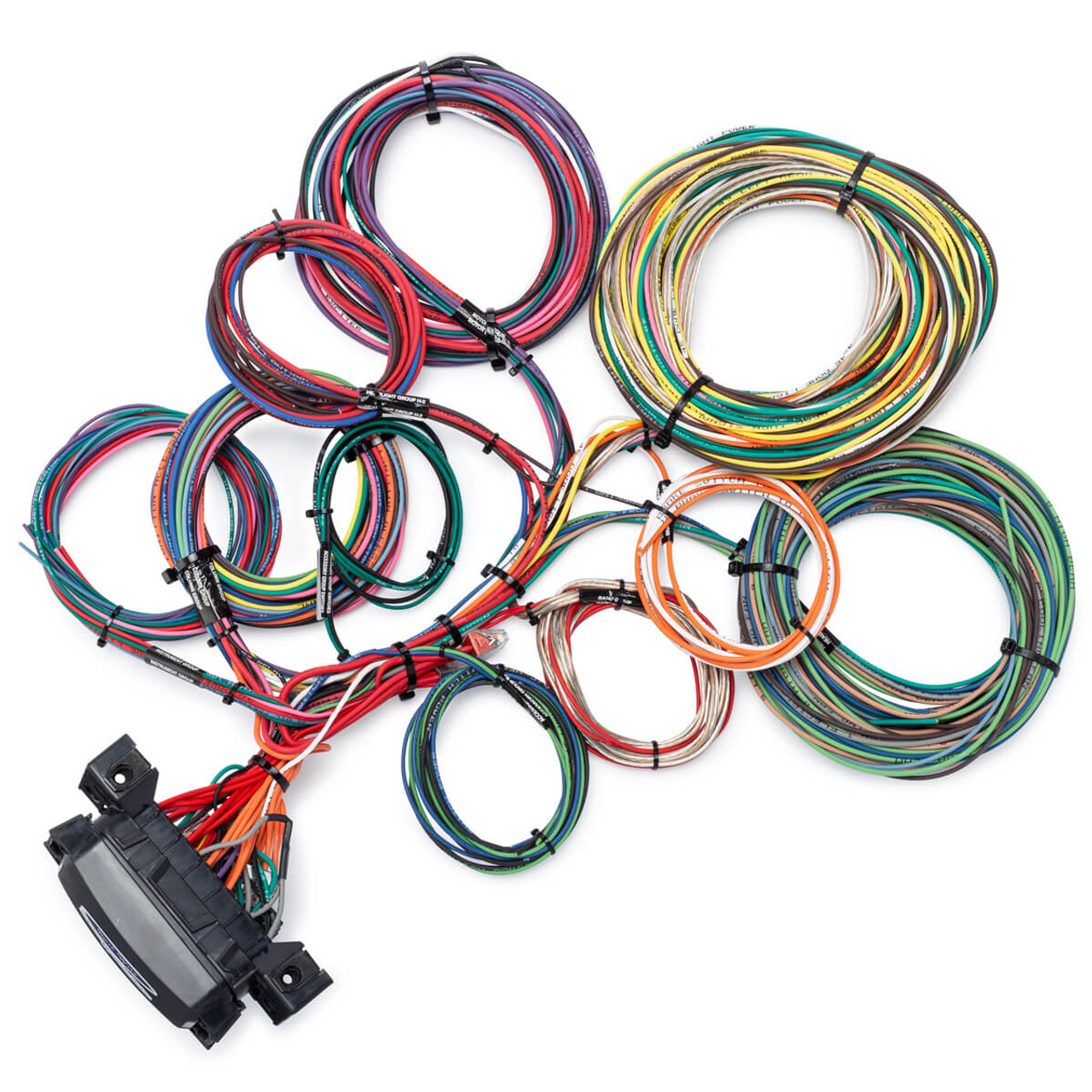 hight resolution of 14 circuit waterproof wire harness kwikwire com electrify your ride