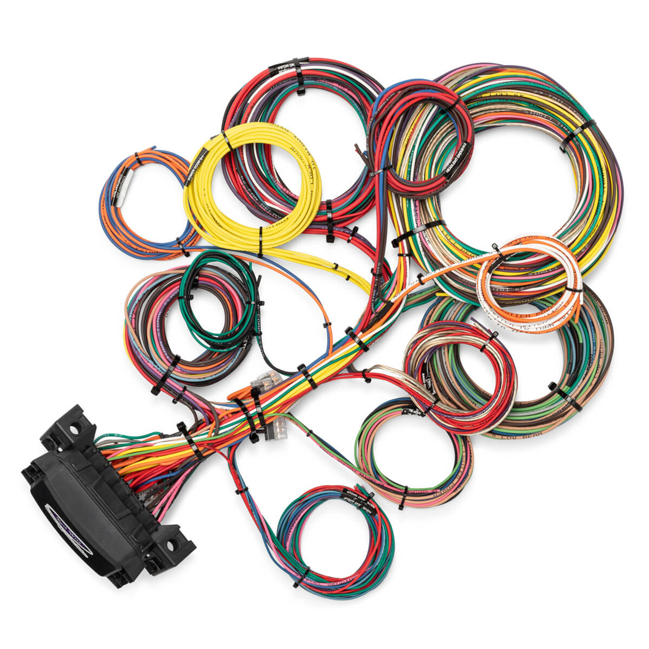 hight resolution of 26 circuit waterproof wire harness kwikwire com electrify your ride electrical wire harness design basics electrical wire harness