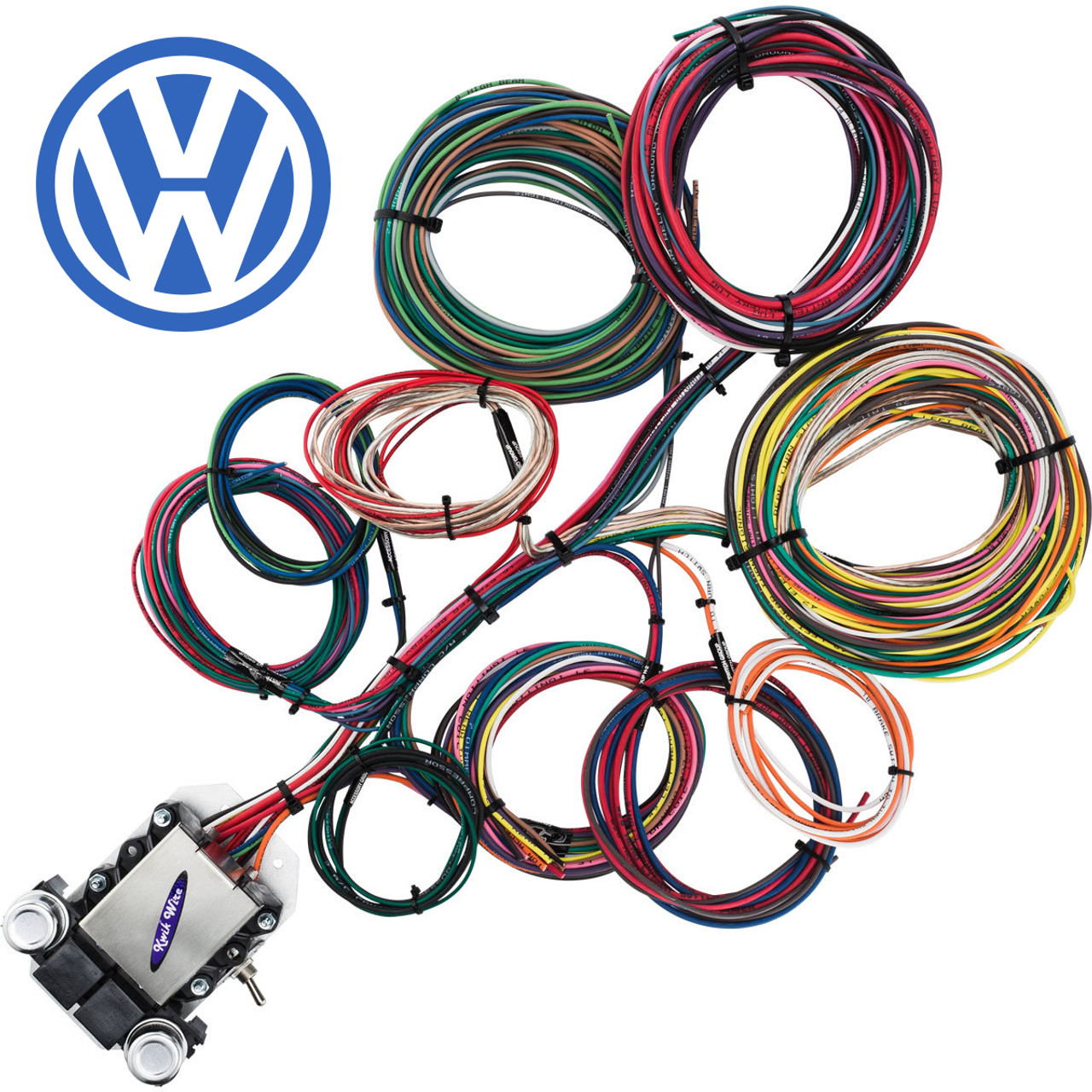 small resolution of 14 circuit vw wire harness kwikwire com electrify your ridevw wire harness 10