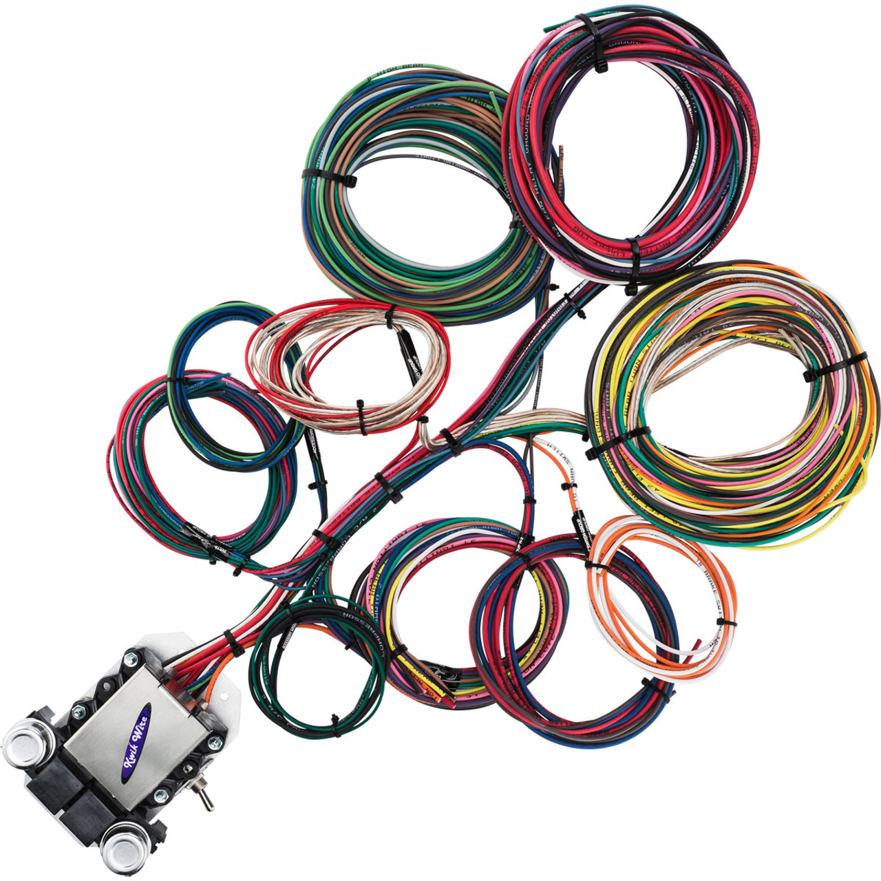 hight resolution of 14 circuit ford wire harness kwikwire com electrify your ride ford wiring harness kits e40d ford wiring harness