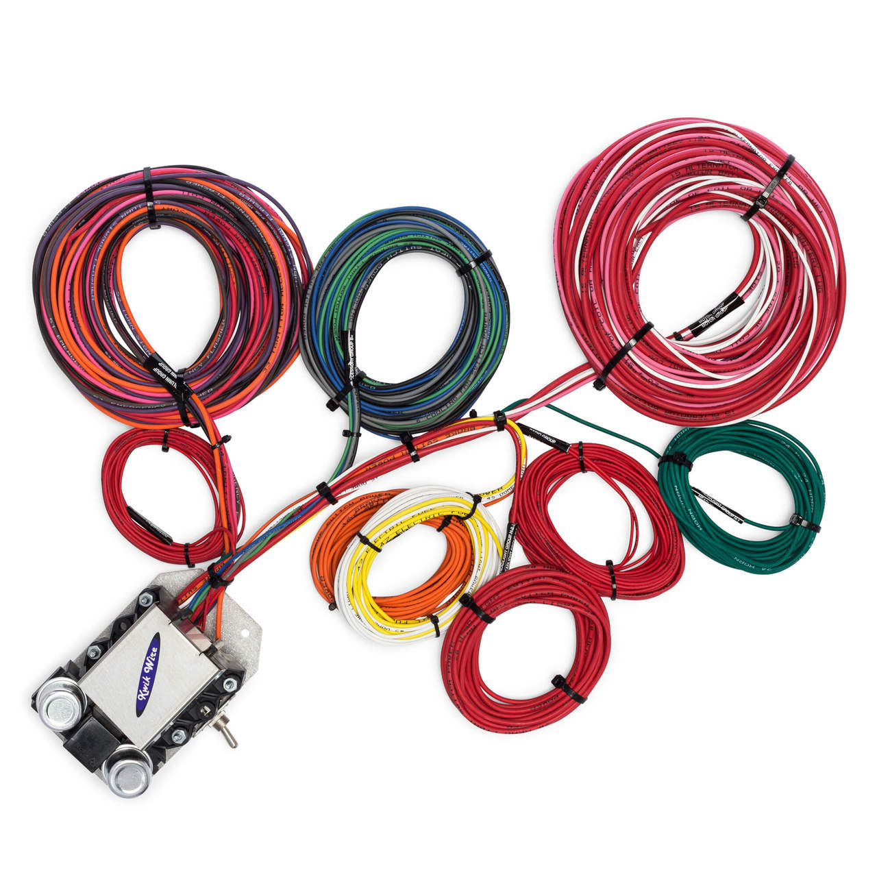 hight resolution of 14 circuit trunk mount wire harness kwikwire com electrify your ride kwik wiring harness kwik wiring harness