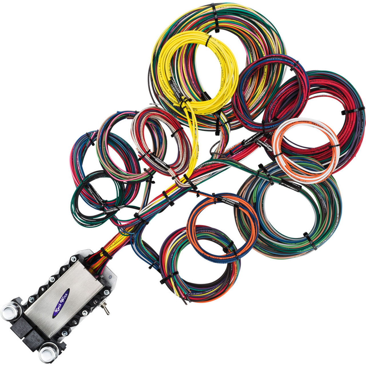 small resolution of 22 circuit wire harness kwikwire com electrify your ride amc wiring harness straps