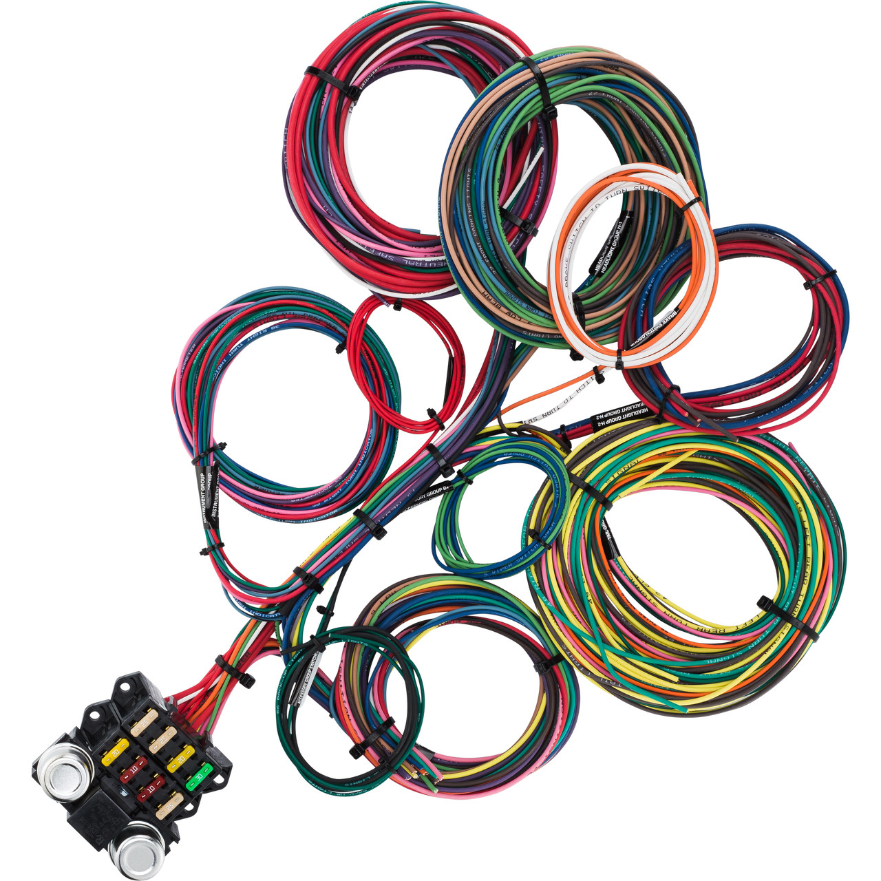 medium resolution of 8 circuit budget wire harness kwikwire com electrify your ride kwik wire ford alt diagram