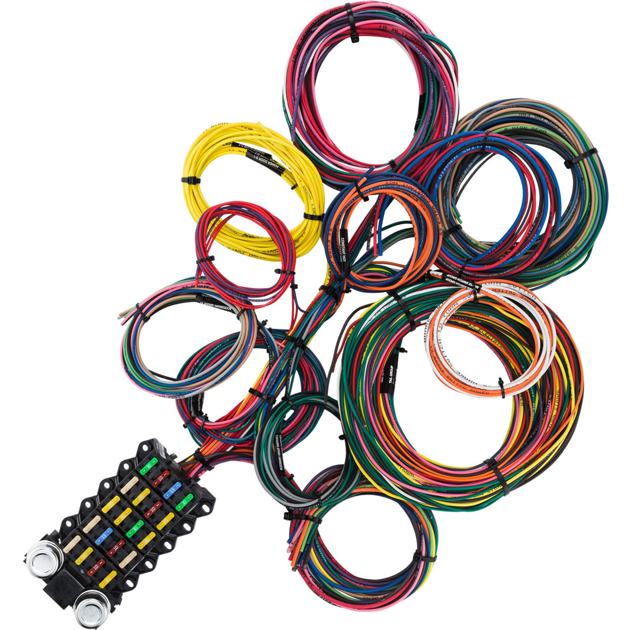 small resolution of 22 circuit budget wire harness