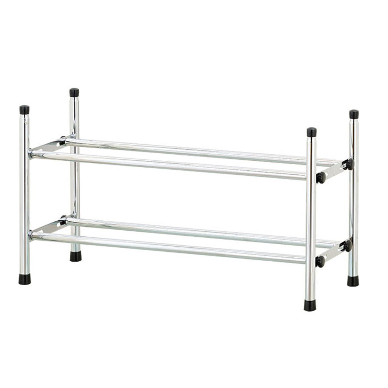 2 tier extend stack shoe rack