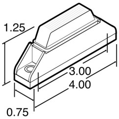 Truck Lite 97300 Wiring Diagram Inverter Pdf Standard Daytime Running Light Drl Module Cd1 A 35080y Led 35 Series Omni Volt Kit