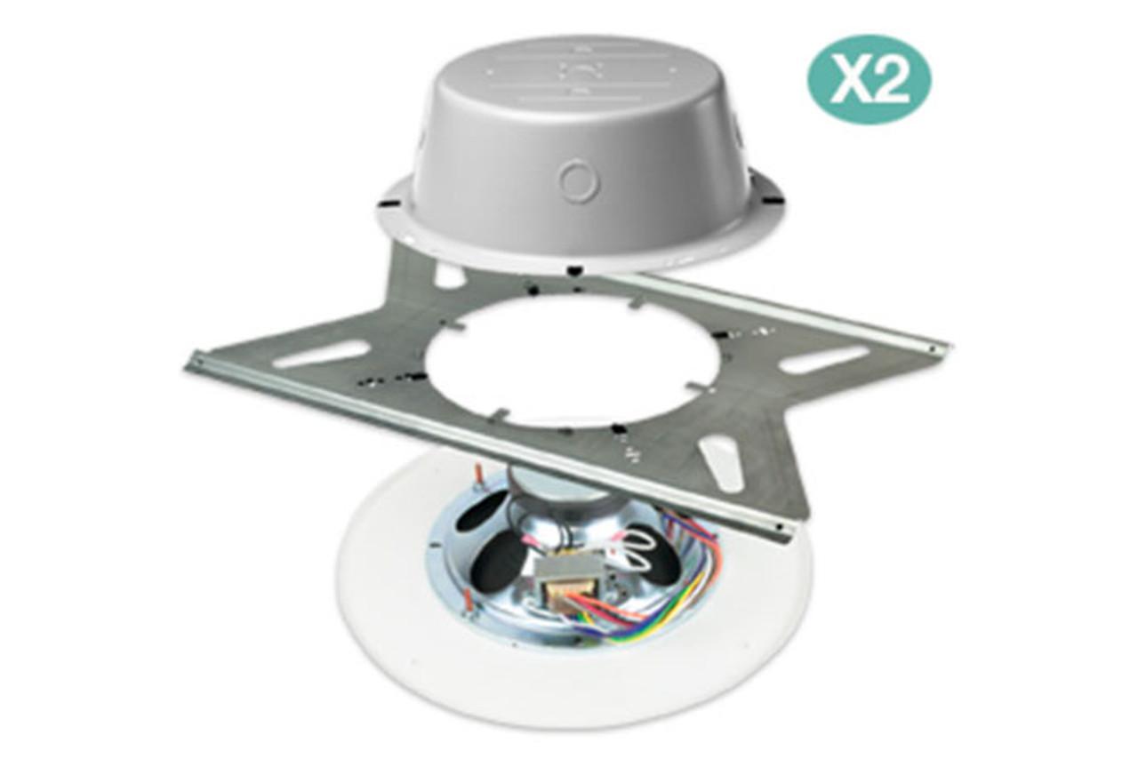 lowell rpak 810 72 speaker package w 2 each speakers transformers cans tile bridges and grilles