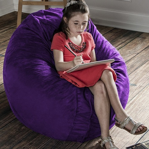 what size bean bag chair do i need armless ghost chairs for autism and special needs calming comforting beanbag kids